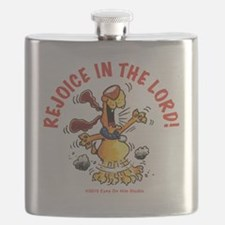Rejoice In The Lord Pup Flask