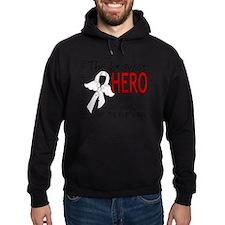 D Mesothelioma Bravest Hero I Ever K Hoodie