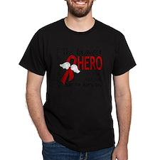 D Heart Disease Bravest Hero I Ever K T-Shirt