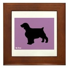Welshie iPet Framed Tile