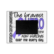 D Stomach Cancer Bravest Hero I Ever Picture Frame