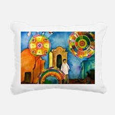 Guatemala Kites Rectangular Canvas Pillow