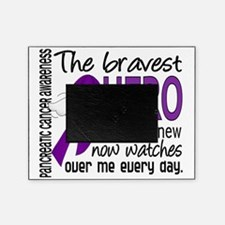 D Pancreatic Cancer Bravest Hero I E Picture Frame