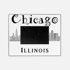 Chicago_10x10_Skyline2_Black Picture Frame