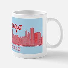 Chicago_5x3_sticker_Skyline Mug