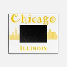 Chicago_10x10_Skyline2_Yellow Picture Frame