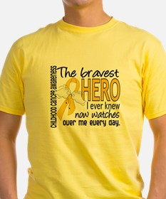 D Childhood Cancer Bravest Hero I E T