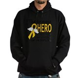 Childhood cancer awareness Dark Hoodies