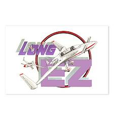 LONG EZ Postcards (Package of 8)