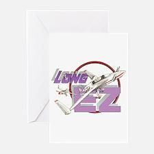 LONG EZ Greeting Cards (Pk of 10)