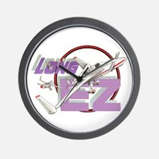 LONG EZ Wall Clock