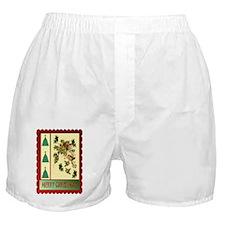 Evergreen Christmas Boxer Shorts