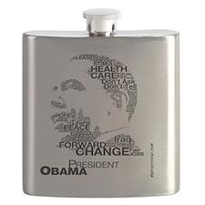President Obama - Words 2 Flask