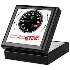 speedometer-30 Keepsake Box