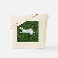 fainting goat Tote Bag