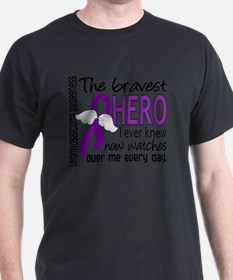 D Leiomyosarcoma Bravest Hero I Ever  T-Shirt