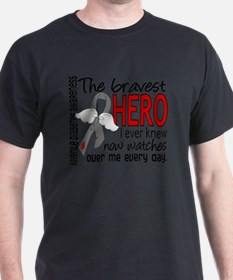D Juvenile Diabetes Bravest Hero I Ev T-Shirt