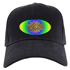 ALL SEEING EYE SMILEY FACE GE Baseball Hat