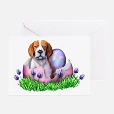 Easter Beagle Greeting Cards (Pk of 10)