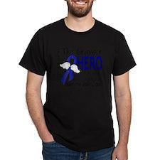 D Colon Cancer Bravest Hero I Ever Kn T-Shirt