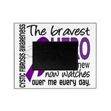 D Cystic Fibrosis Bravest Hero I Eve Picture Frame