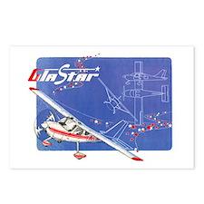 GLASTAR I Postcards (Package of 8)