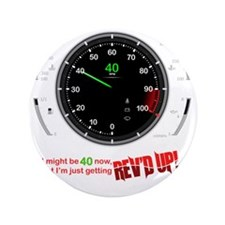 "speedometer-40 3.5"" Button"