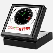 speedometer-40 Keepsake Box