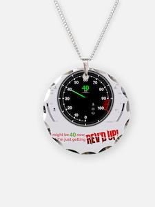 speedometer-40 Necklace
