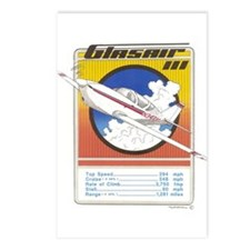 GLASAIR III Postcards (Package of 8)