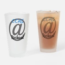 Logo Blue Drinking Glass