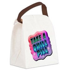Take A Chill Pill Canvas Lunch Bag