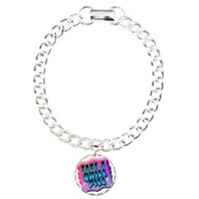 Take A Chill Pill Charm Bracelet, One Charm