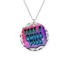 Take A Chill Pill Necklace