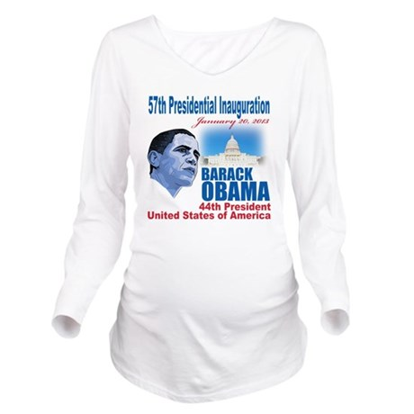 57th Presidential in Long Sleeve Maternity T-Shirt