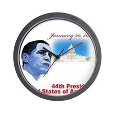 57th Presidential inauguration Wall Clock
