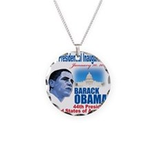 57th Presidential inaugurati Necklace Circle Charm