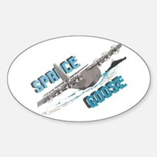SPRUCE GOOSE Oval Decal