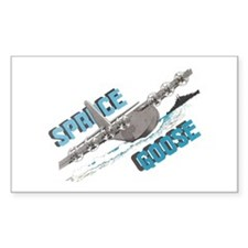 SPRUCE GOOSE Rectangle Stickers