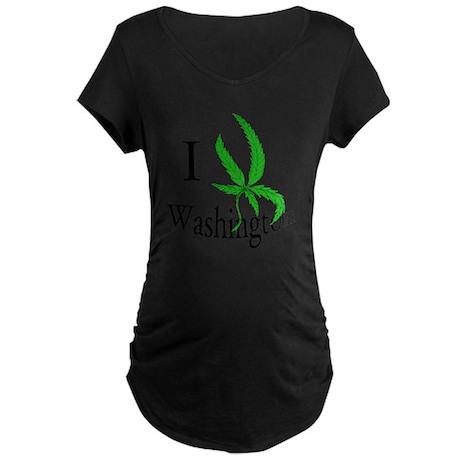 I pot Washington Maternity Dark T-Shirt