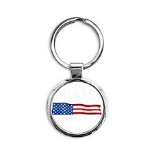 President Obama 2012 Round Keychain