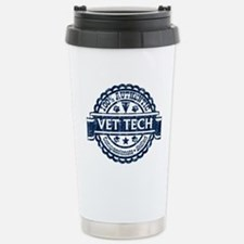 100% Authentic Vet Tech (Blue) Travel Mug