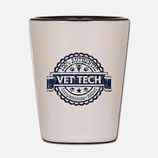 100% Authentic Vet Tech (Blue) Shot Glass