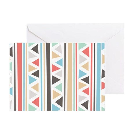IndieStripes Messenger Bag Greeting Card