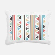 IndieStripes Messenger B Rectangular Canvas Pillow