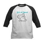 B is for Bunny Kids Baseball Jersey