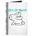B is for Bunny Journal