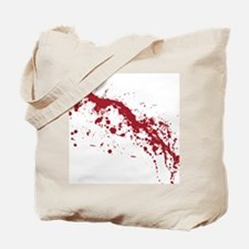 splatter-white_allover-f Tote Bag