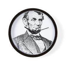 President Lincoln Wall Clock