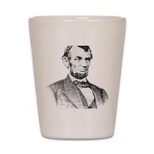 President Lincoln Shot Glass